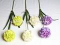 sjycq15 impressionante único artificial cebola bola de flores para venda