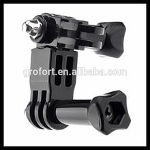 Profession Camera Three Way Pivot for Gopro Hero Three Way Pivot Arm Mount