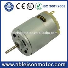 RS-385 Micro Electric pmdc motor,3v,6v,12v,24v, 1w-20w output, high speed, high torque