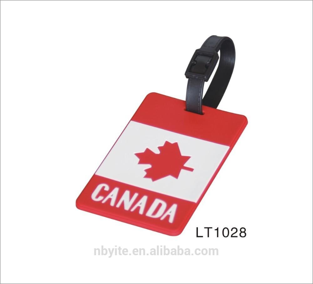 Canada Luggage Tag Luggage Tags Canada Flag
