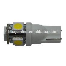 T10 194 168 W5W 5-SMD 5050 LED Car Side Wedge Tail Light Lamp Bulb DC 12V a