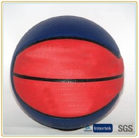 Blue & red basketballs