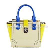 New Women Handbag Shoulder Bag Tote Purse Bright PU Leather Lady Messenger