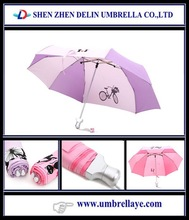 New Inventions Advertising Foldable Couple Umbrella