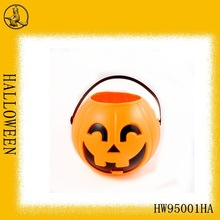 Plastic jack-o'-lantern for Halloween