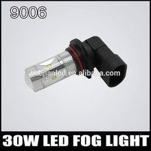 30W 9006 Led Fog Light Super Bright high power LED for Car Fog Lamps High Power 360 Degree 2pcs/lot