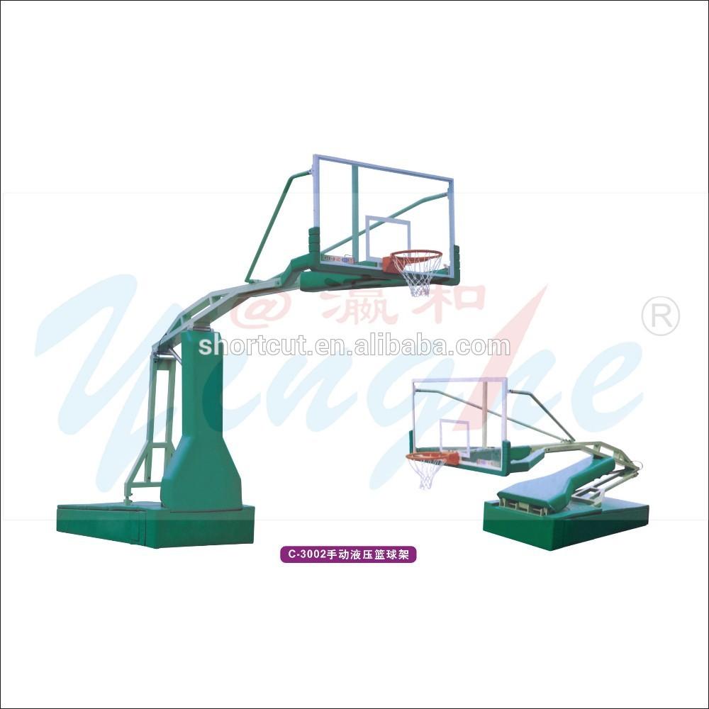 2015 markası- yeni manuel hidrolik hareketli portatif basketbol standı fiyat