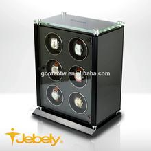 2014 New Product 6 Rotors Wooden LED Carbon Fiber box