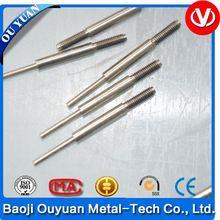 anodized titanium piercing