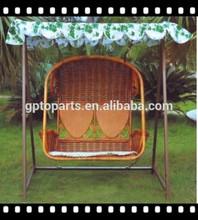 Patio Garden Furniture/ Luxury Loveseat Swing Hanging chair/ 2 seater swing