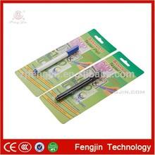 Colored aluminium barrel&plunger money detector pen