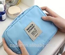 Korean waterproof travel cosmetic bag packaging cosmetic