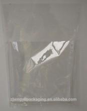 transparent plastic bag for packing bed sheet