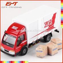 China wholesale 1 40 scale mini van box truck for sale