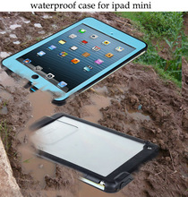 The fine Waterproof case for ipad mini