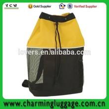tote knapsack drawstring mesh bag