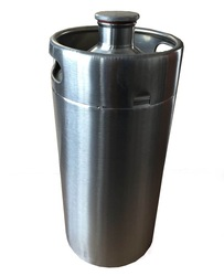 Craft BEER Growler,4 liter 304 Stainless Steel ,128 ounce container