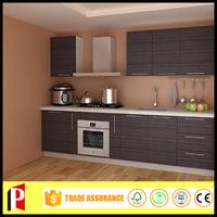 kitchen cabinet production line mini kitchen designs with melamine wood kitchen door