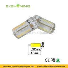 high quality silicon SMD LED G4 light DC 12V or AC 110V 220V car light
