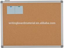 Aluminum frame cork notice board 300x120cm