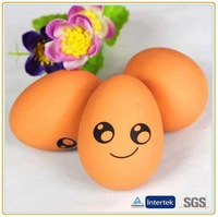 Rubber eggs toy