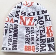 2015 hot sale print beanie hat