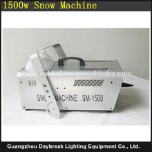 Disco Club DJ power snow machine 1500w snow flake stage special effect machine snow maker