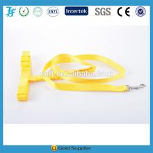 nice collar and leash Yellow Dog Collars and leash pure color collar and leash