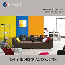 LK-8002A 2014 popular small modern cheap fabric sofa