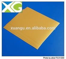 Gold inkjet pvc flexible plastic sheet