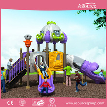 Eco-friendly funny playground wood kids outdoor playset for children playing in backyard amusement park and garden AP OP11005