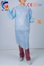 disposable operation cpe gown,medical apron isolation