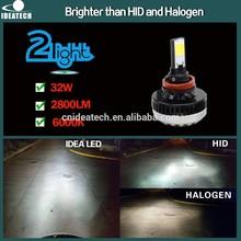 IDEA PATENT 30W 2800 Lumen H8 LED Headlight led car lamp