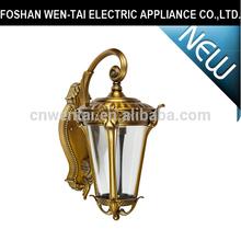 high quality modern outdoor wall lighting brass elegant coach light