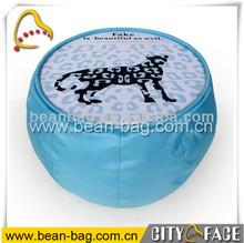 indoor/outdoor waterproof bean bag laptop printing beanbag coffee desk