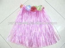 pink hula skirt H-P013