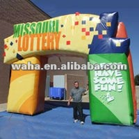 new hot outdoor inflatable arch