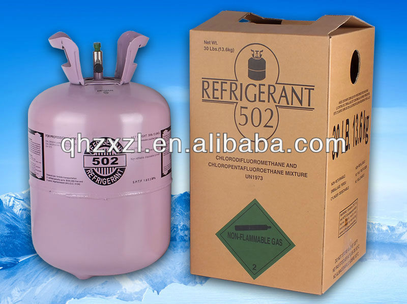 Refrigerant Gas R502a with 99.9% purity