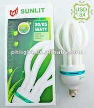 4U 14mm lotus energy saving lamp CFL