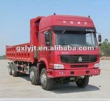 ZZ3317N4667C1 8*4 howo best sell dump truck