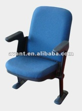 Avant multifunction folding chair sports seating plastic auditorium seating vip chair