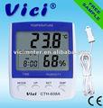 Cth-608a termómetro digital termohigrógrafos con alarma