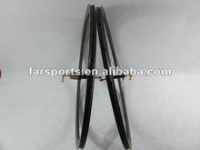 wholesale!!!700C road wheels 60mm carbon tubular wheels Bitex+basalt braking surface,1320g+/-30g