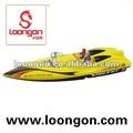 Loongon 4-way barco de la velocidad con la batería del rc barcos de velocidad para la venta