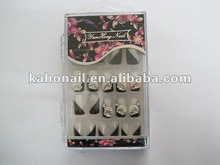 Yiwu suppliers to provide all kinds nail art,cosmetics,3D Nail tip dot 3d nail art product