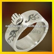 distinctive design mens fashion costume ring, comfort fit