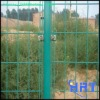 PVC coated iron wire mesh fencing(factory)