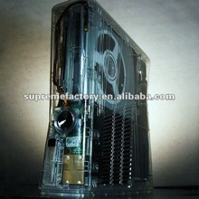 For XBox 360 Slim XCM Crystal Clear Case with X-Light Kit