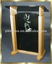 APP_210 Floor Standing Clear Acrylic Lectern Hot Sell/Modern Design Clear Perspex Acrylic Rostrum Lectern Podium