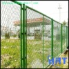 PVC coated retractable iron wire mesh fencing(factory)